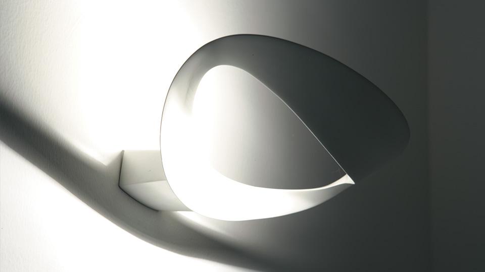 Mesmeri applique con led integrato lampade da parete stil lamp