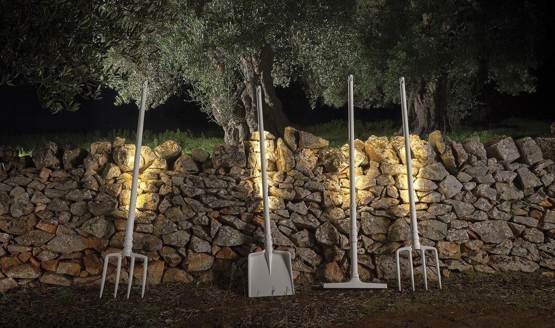 Illuminazione da terra per esterni lampada bubka da terra davide